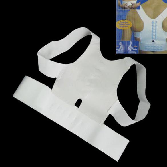 Magnetic Back Shoulder Posture Corrector Back Support Straighten Out Brace Belt Orthopaedic Adjustable Unisex Health