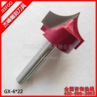 6*22 Engraving Machine Milling Cutter Wood Cutter Woodworking Router Bits