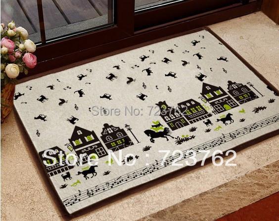 Door mat home carpets living room carpet doormat outdoor bathroom mat,40X60cm rugs - R&L Rich Decoration China store