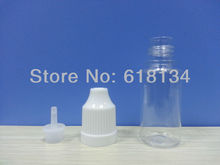 Wholesale 50000pcs  PET 10ML Plastic Dropper Bottles With Childproof Cap With Long Thin Tip,Plastic bottles E-cigarette(China (Mainland))