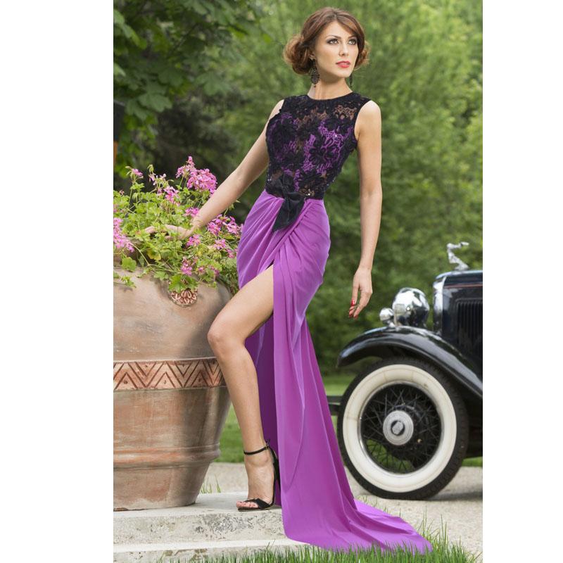 2016 New Summer Dress Black Elegant Lace Patchwork Maxi Long Sexy Prom Evening Party Dresses Women Vestidos C2317 - Comerry Shop store
