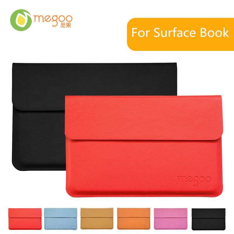 Brand New Megoo Surface Book Sleeve Case Leather Case Cover For 13.5' Tablet PC Microsoft Surface Book(China (Mainland))