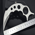 GH Karambit knife Faca Hunting camping survival tactical pocket claw mini neck knives spydercomulti steel sharp
