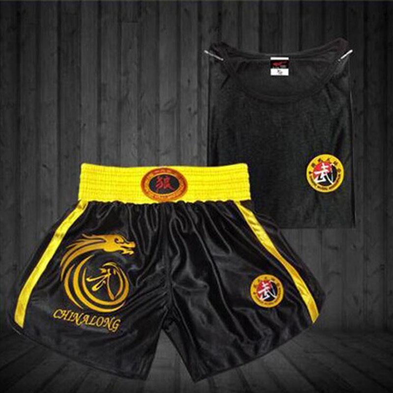Muay Thai Generation Wolf Sanda Boxing Clothes Clothing Pants Shorts Fight Muay Thai Martial Arts<br><br>Aliexpress