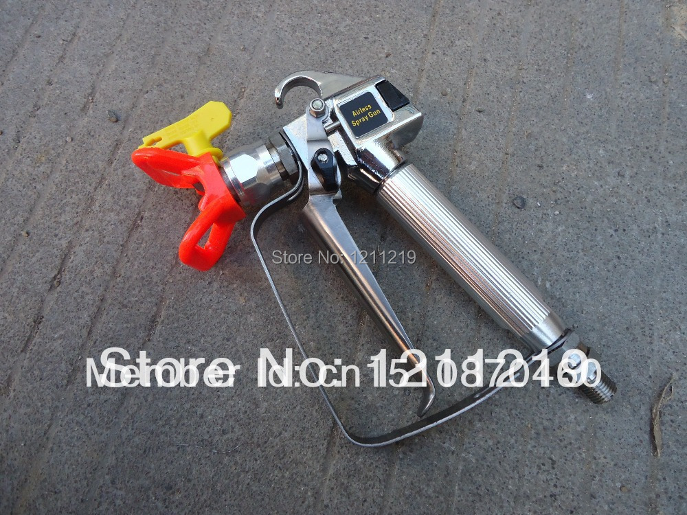 Airless Spray Gun with spray tip and guard Suit for Graco, Wanger ,Titan paint sprayer(China (Mainland))