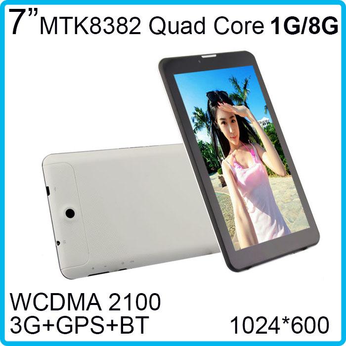 Планшетный ПК Letine ! Bluetooth, 3G WCDMA 2100 1024 * 600 1 8 + GPS + HD MTK8382 4.2 7 Android LT705D op032 mobilnaya garnitura bluetooth lt b11 64218929