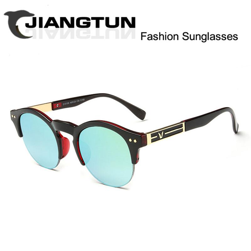 JIANGTUN Newest Brand Cat Eye Sunglasses Women Hollow Metal Frame High Quality Sun Glasses Vintage Oculos UV400 JT15109(China (Mainland))