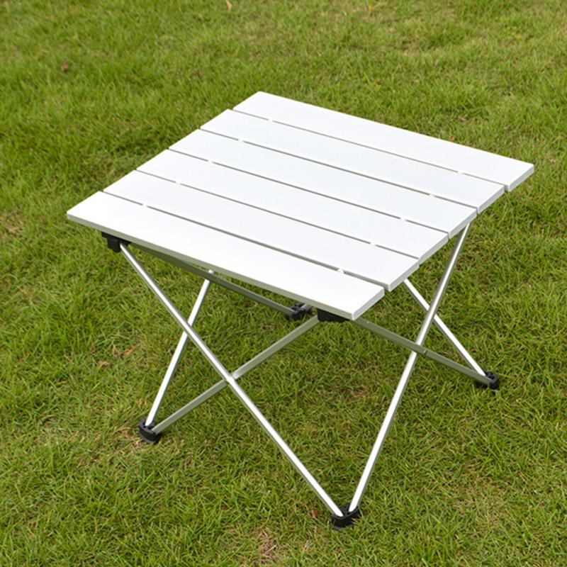 56 *X40.5 X 40CM Outdoor Aluminum Folding Table Portable Roll Up Table Folding Camping Outdoor Indoor Picnic Bag Table(China (Mainland))