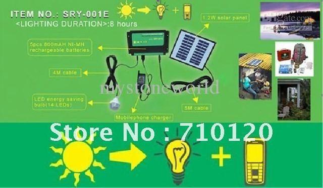 syst me portatif d 39 nergie solaire syst me de panneau solaire syst me solaire pour l. Black Bedroom Furniture Sets. Home Design Ideas