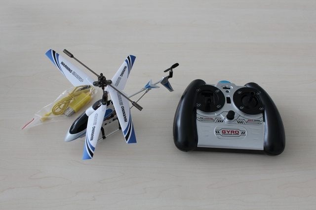 Free shipping Best price new kids toys 8.6 Inch 3.5 CH Metal Gyro RC Helicopter S105G + USB Charger Cable + Tail Blade.RC TOY