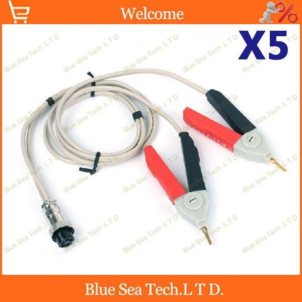 5 pcs good Kelvin DC Low resistance test cable/ test Clip,ohmmeter test clip for resistance tester Free Shipping<br><br>Aliexpress