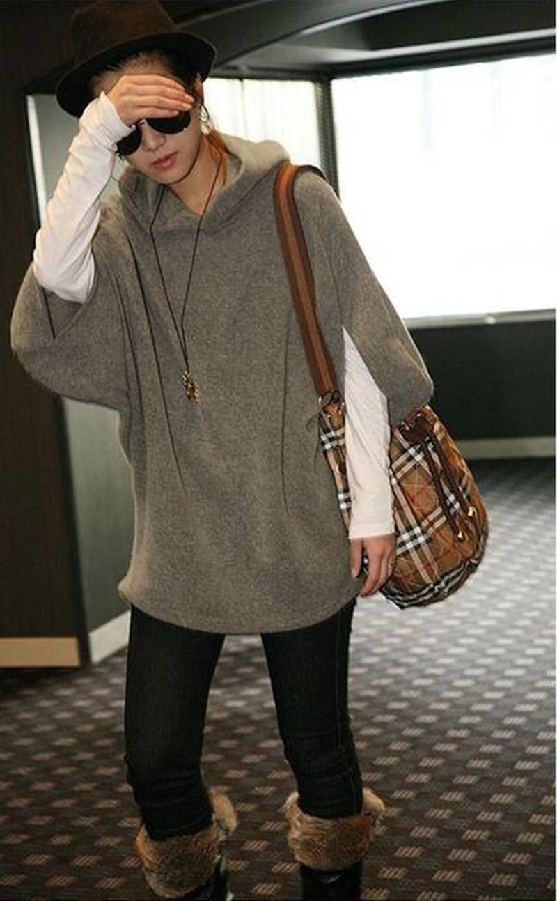 Серый пуловер с доставкой