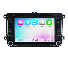 Wince 6.0 support WIFI 3G Car DVD Player Stereo Radio GPS Navigation For VW POLO Tiguan Touran PASSAT B6 B7 CC Golf 5 EOS Jetta