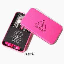 Korea stylenanda 3ce Brushes kit 7pcs makeup brush set 3 Concept Eyes Professional make up beauty tool maquiagem Free Shipping