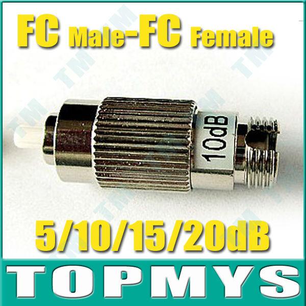 High Precision TM-OA6 FC Male To FC Female Fixed Attenuator 5/10/15/20dB Optional Fiber Optic Attenuator ,Free shipping<br><br>Aliexpress