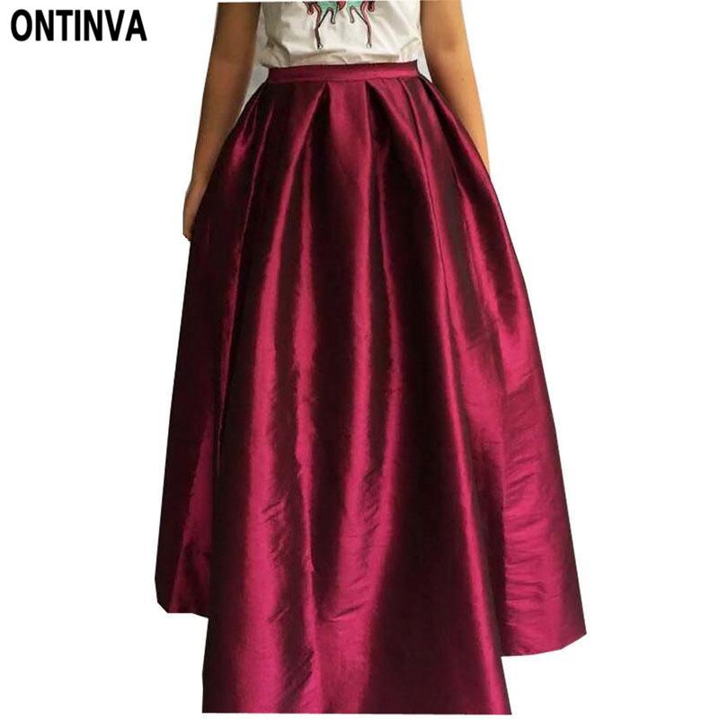 115cm maxi skirt in floor high waisted skirts