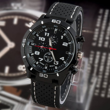 2015 new Casual Quartz watch men military Watches sport Wristwatch Dropship Silicone Clock Fashion Hours