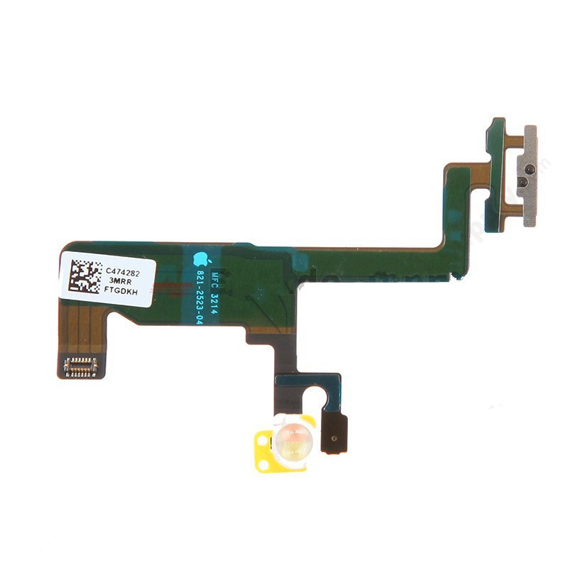50 pieces/lot HK free shipping Power Button Switch On/Off Flex Cable Ribbon for iPhone 6 4.7 inch,free shipping+track code(China (Mainland))