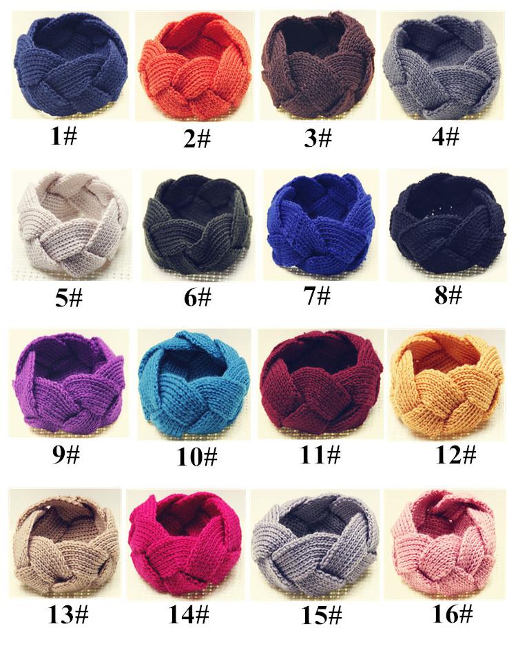 2019 Fall Solid Parisian Twist Headband Ear Warmer Crochet Pattern