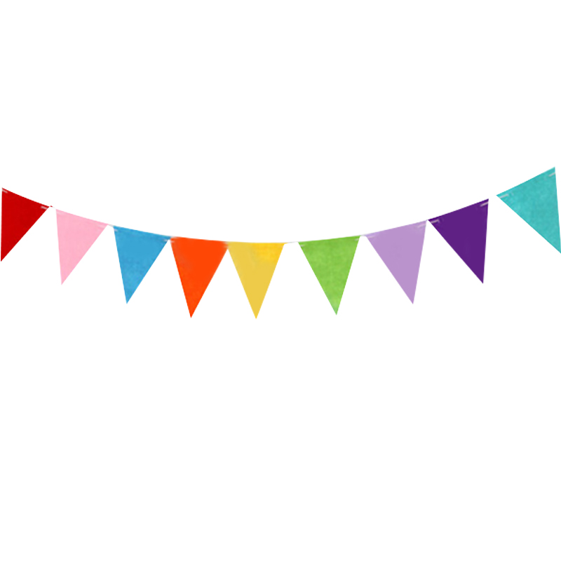 2019 wholesale 3m happy birthday pennant flags bunting banner