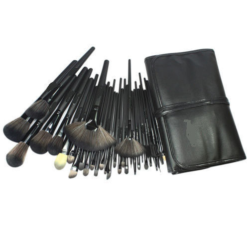Superior Professional Soft Cosmetic Makeup Brush Set Kit + Pouch Bag Case Woman's 32 Pcs Make Up Tools Pincel Maquiagem(China (Mainland))