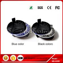 4 pcs, Emblème de roue Center pour Hub Caps couverture, Noir, Bleu 75 mm ( convient : Mercedes - Benz )(China (Mainland))