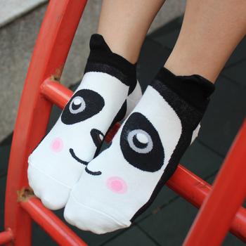 Cute Korean candy colored cartoon couple socks socks