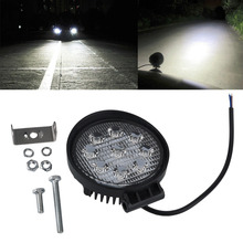 Buy 27W 12V 24V Flood Led Work Light Lamp Bar Boat Tractor Truck Off-road SUV GP for $10.61 in AliExpress store