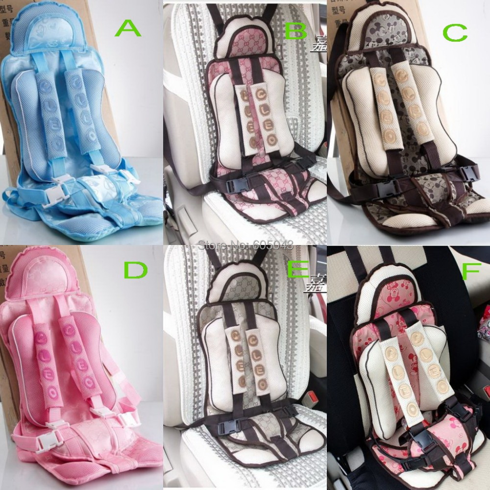 Free shipping&High quality Baby Car Seats/Child safety car seats / child car seat 6 colors(China (Mainland))