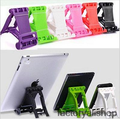Portable Foldable Racing Car Stand Holder for iPad iPhone Mobile Phone Choose(China (Mainland))