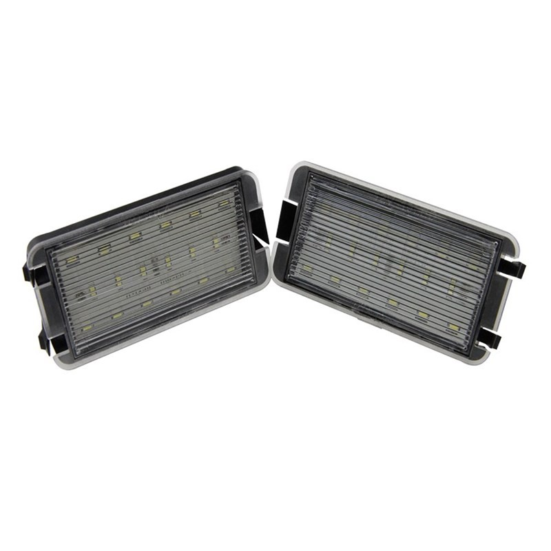 License Plate Lights FOR SEAT ALTEA AROSA IBIZA-5