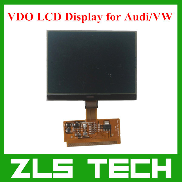New VDO LCD Display for Audi A3 A4 A6 for VW with High Quality Free Shipping(China (Mainland))
