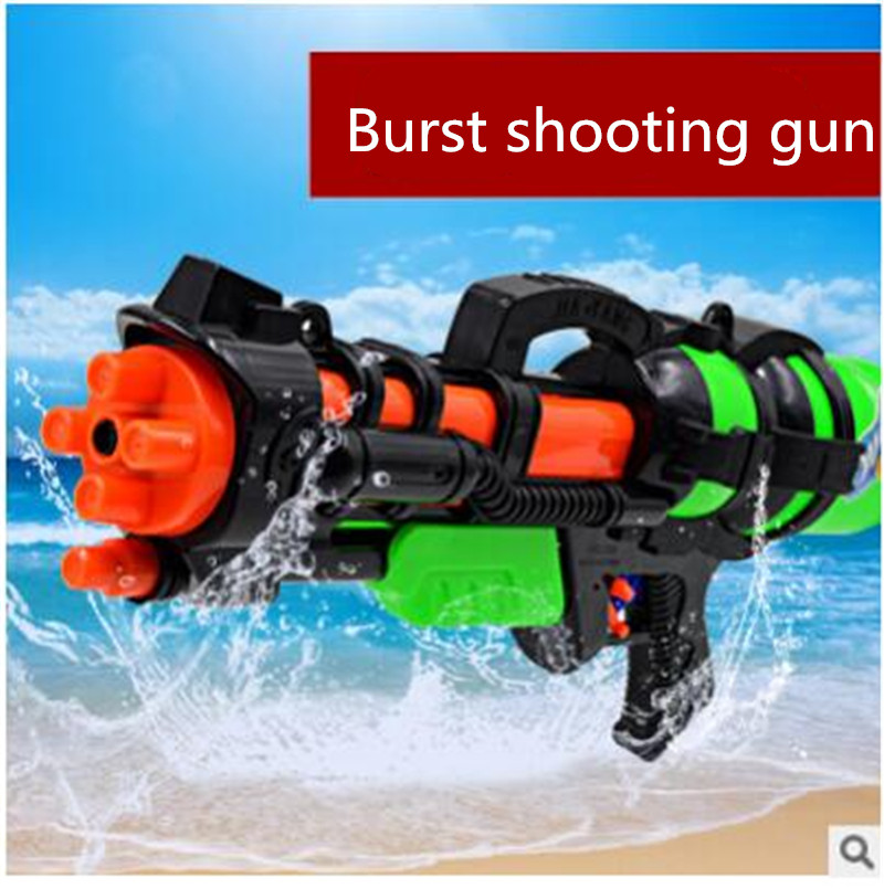 New Arrival boys toy Big Water Gun Sports Game Shooting Pistol High Pressure Pump Action high quality hot sale Buy 7 get 1(China (Mainland))