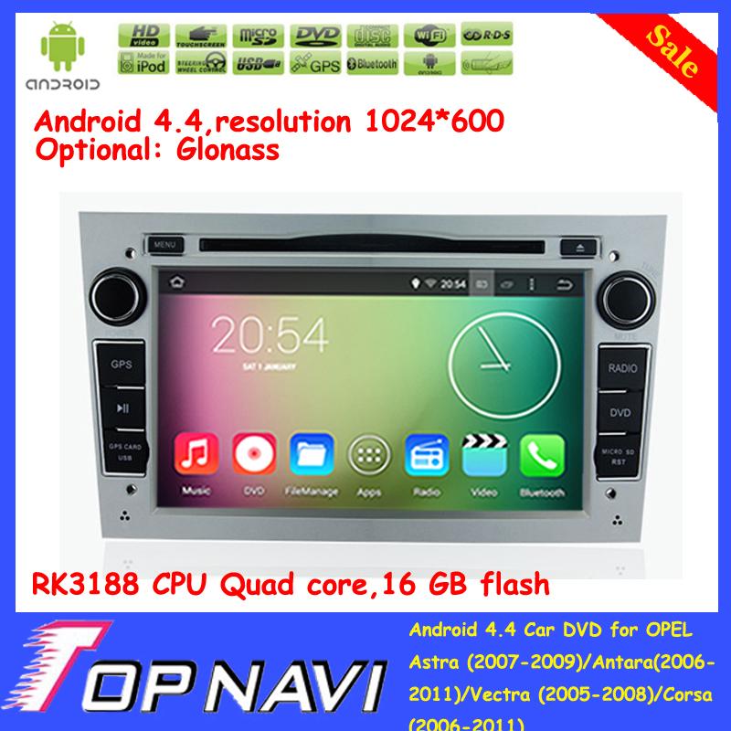 Top Quad Core Android 4.4 Car GPS For OPEL Zafira(2005-2011)Corsa(2006-2011)Astra(2007-2009)Antara(2006-2011)Vectra(2005-2008)<br><br>Aliexpress