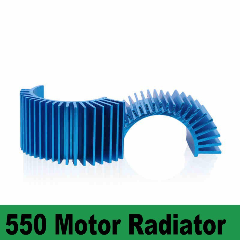 550 brushless motor motor radiator fins remote control car model car accessories DIY modification 1:10(China (Mainland))