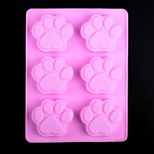 Puppy Footprints Catlike Silicone Cake Mold Cake Decorating DIY Cookie Chocolate Moulds Bakeware Kitchen Accessories