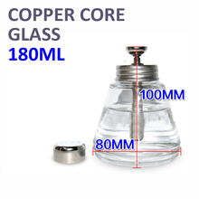 Thickened Pressing type Glass copper core Flux Alcohol bottle Cleaning tool Corrosion proof Wash plate water bottle(China (Mainland))