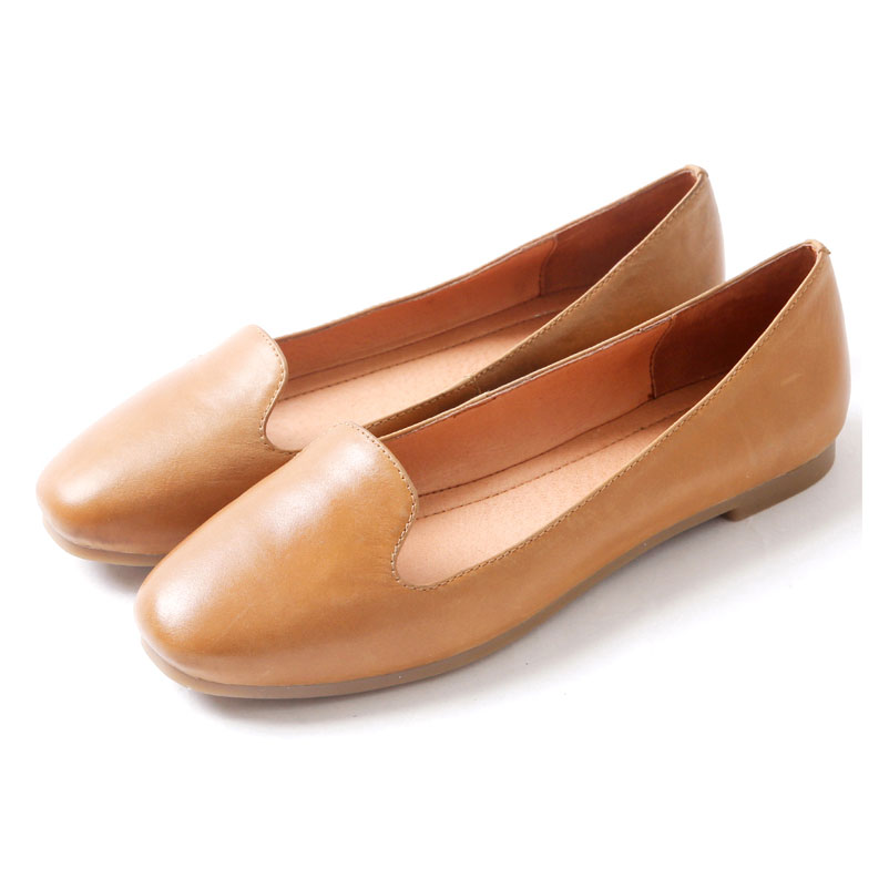 2016 Woman Flat Shoes Genuine Leather Women Ballet Flats Slip On Horsehair Shoes Woman Spring Autumn Women Flats(China (Mainland))