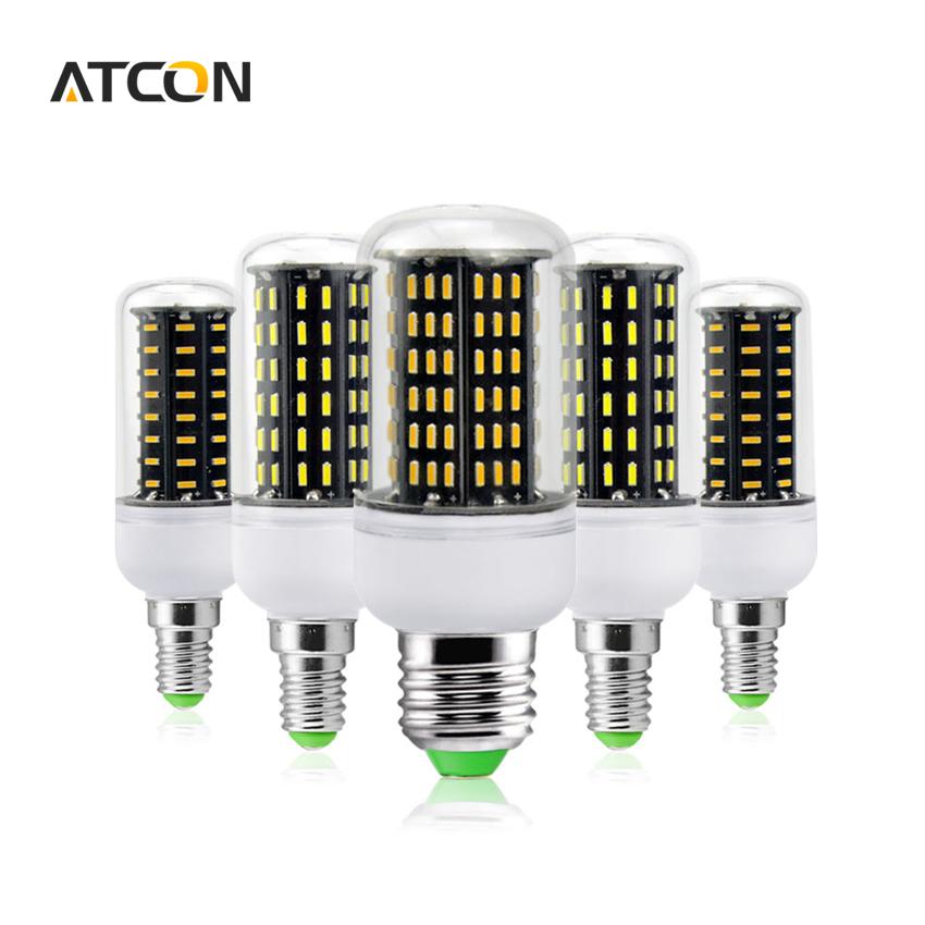 1Pcs Ultra High Luminous Flux 4014SMD E27 E14 38 55 78 88 140 LED Corn lamp Chandelier 220V 110V No Flicker LED Bulbs Spot light(China (Mainland))