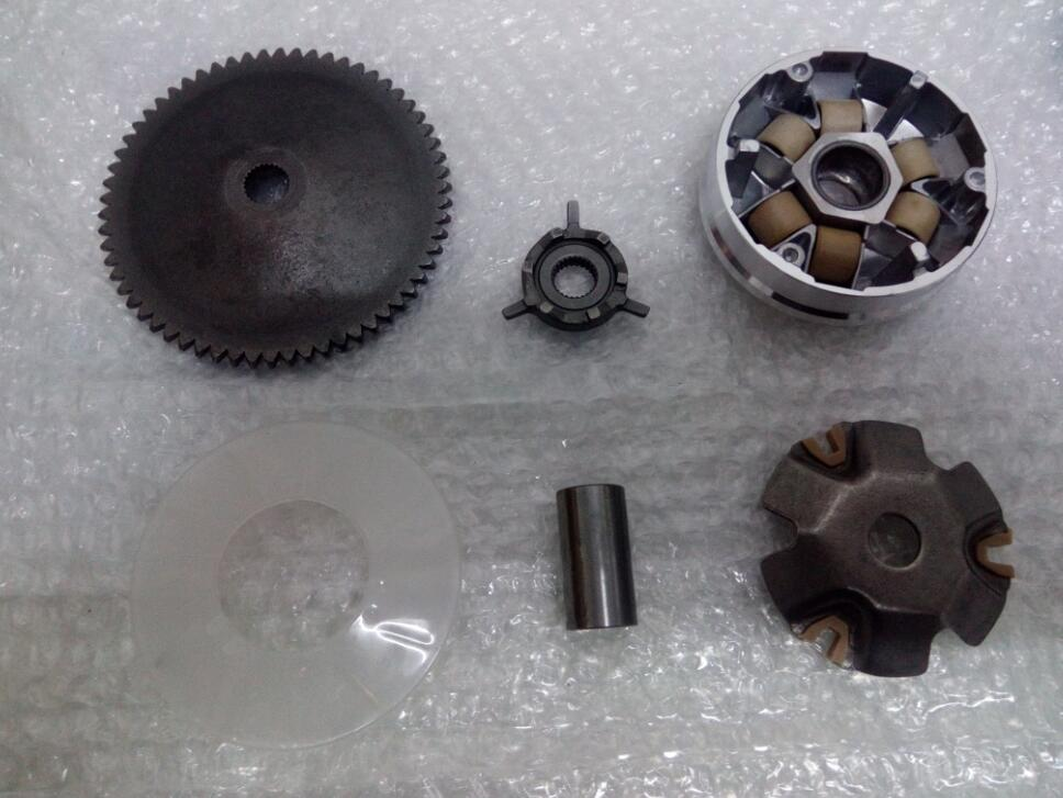 font b GY6 b font 50cc 80cc Scooter Engine Parts Main Driving Wheel Disc Clutch
