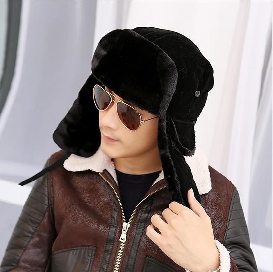 high quality winter Warm Proof Trapper Hat Women aviator hat,Russian Hat sport outdoor ear flaps bomber caps stocking stuffers