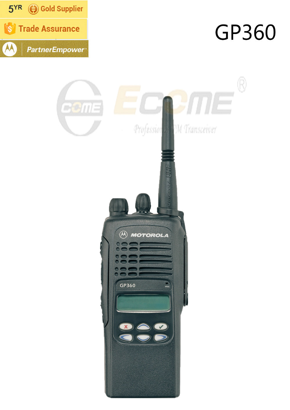 128 Channel Walkie Talkie for Motorola GP360 Two Way Radio(China (Mainland))