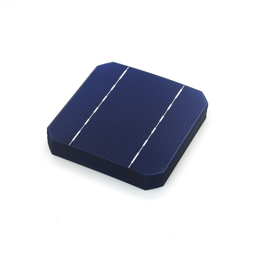 10 Pcs 17.6% 125 x 125MM Mono Solar Cells 5x5 Grade A monocrystalline Silicon PV Wafer For DIY Home Photovoltaic Solar Panels(China (Mainland))