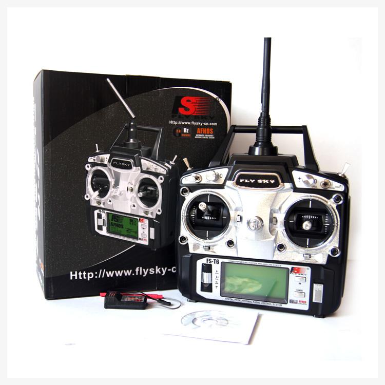 Flysky fs t6 fs t6 2 4g digital 6 channels transmitter amp receiver