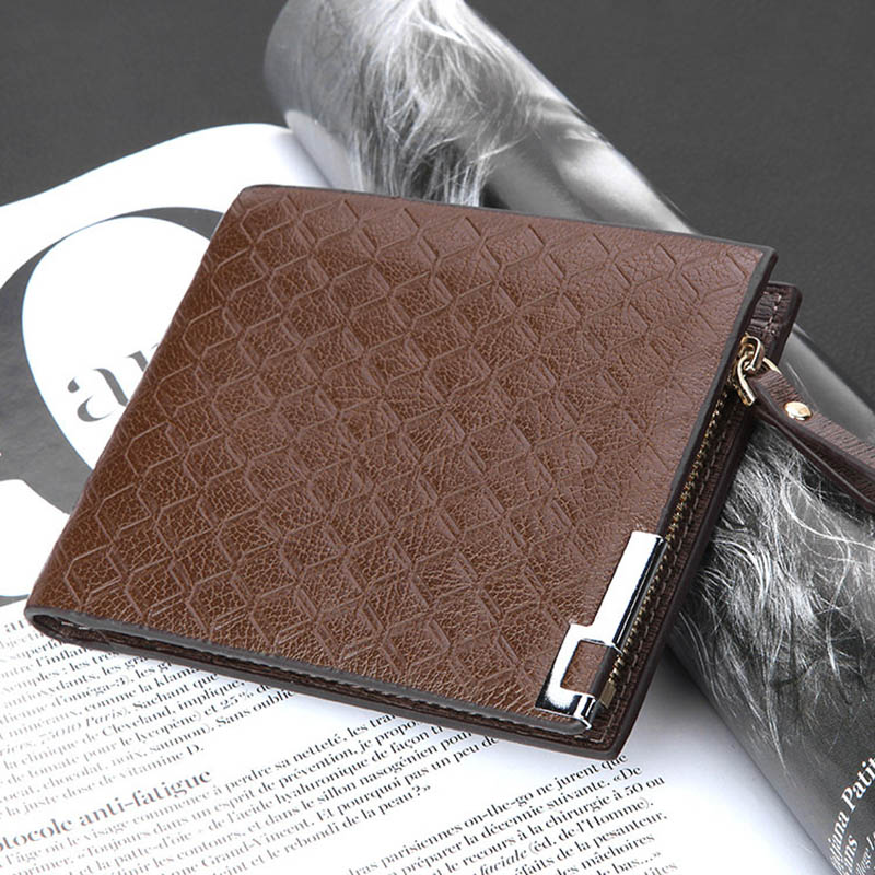 Retro leather men wallet dollar price sport purse portofol pera bolsos handbags tegnebog Brieftasche veski lompakko mochila(China (Mainland))