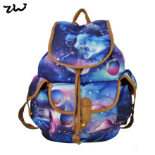 ZIWI Brand New Arrival Ladies Anna Smith Retro Canvas Backpack Rucksack Girls School Knapsack QQ1626-1(China (Mainland))