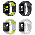 For Apple Watch Strap Nike Series 2 New Silicone Sports Band Strap Band 38m 42mm for