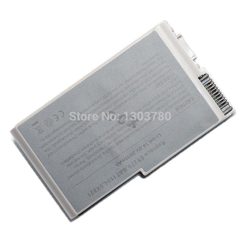 2200mah battery for dell Latitude D500 D505 D510 D520 D530 D600 D610 for Inspiron 510m 600m 0R160 0X217 1X793 J2178 M9014 U1544(China (Mainland))
