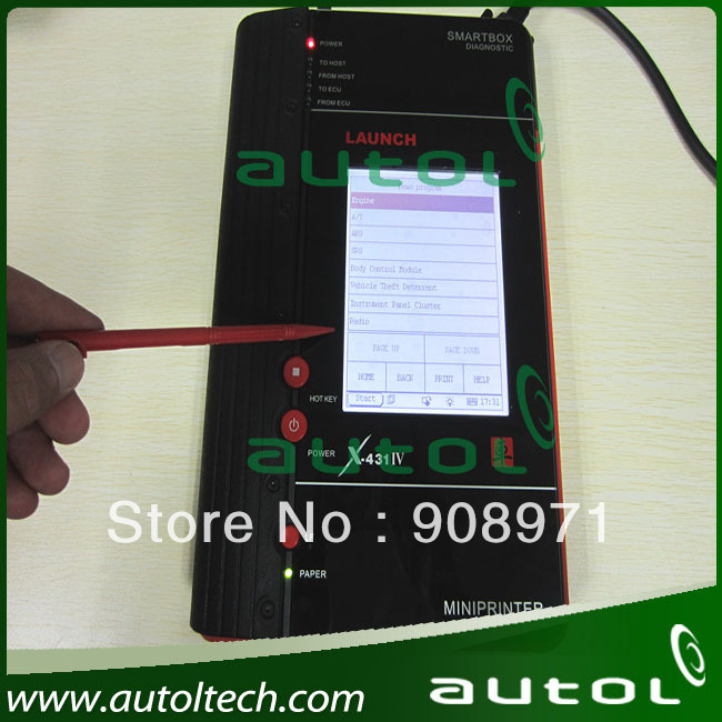 Multi-language Launch X431 Master IV Diagnostic Tool X431 Master IV Auto Scan Tool upgraded by internet DHL&EMS shipping(China (Mainland))