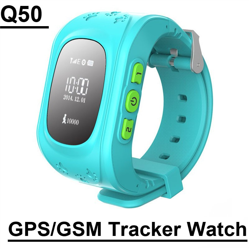 Q50 Kids Smart GPS/GSM Tracker Watch Anti-lost Locator Alarm Clock Smartwatch Remote Monitor SOS Tracker For Android IOS windows(China (Mainland))